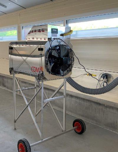 generateur air chaud CDM Systel