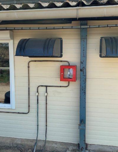raccordement installation reseaux gaz intérieur batiment