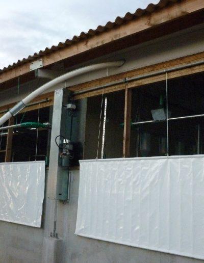 ventilation bâtiment statique