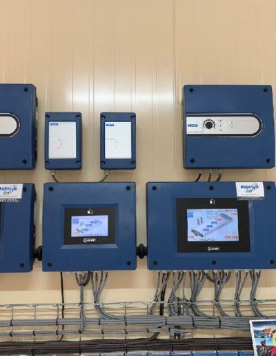Ventilation : boitier de regulation et alarme