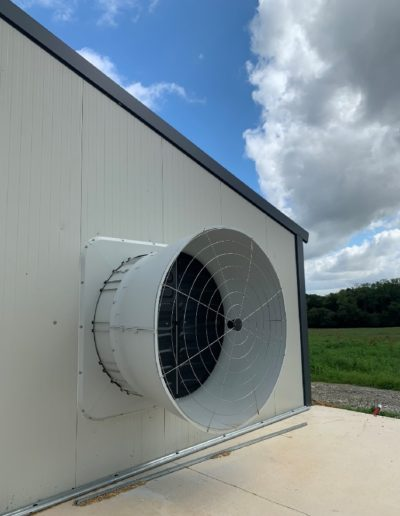 Ventilation : turbine extraction air volet ouverture automatique